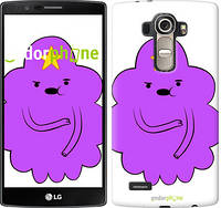 "Чехол на LG G4 H815 Принцесса Пупырка. Adventure Time. Lumpy Space Princess v2 ""1221u-118-716"""