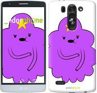 "Чехол на LG G4 Stylus H540 Принцесса Пупырка. Adventure Time. Lumpy Space Princess v2 ""1221u-242-716"""