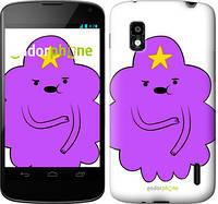 """Чехол на LG Nexus 4 E960 Принцесса Пупырка. Adventure Time. Lumpy Space Princess v2 """"1221u-203-716"""""""