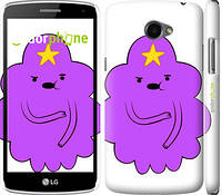"Чехол на LG K5 X220 Принцесса Пупырка. Adventure Time. Lumpy Space Princess v2 ""1221c-457-716"""