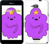 """Чехол на Sony Xperia E4g Принцесса Пупырка. Adventure Time. Lumpy Space Princess v2 """"1221u-326-716"""""""