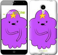 "Чехол на Meizu M1 Note Принцесса Пупырка. Adventure Time. Lumpy Space Princess v2 ""1221u-172-716"""