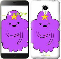 "Чехол на Meizu M1/M1 mini Принцесса Пупырка. Adventure Time. Lumpy Space Princess v2 ""1221u-188-716"""