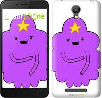 "Чехол на Xiaomi Redmi Note 2 Принцесса Пупырка. Adventure Time. Lumpy Space Princess v2 ""1221c-96-716"""