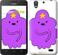 "Чехол на Huawei Ascend G630 Принцесса Пупырка. Adventure Time. Lumpy Space Princess v2 ""1221u-137-716"""