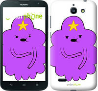 "Чехол на Huawei G730 Принцесса Пупырка. Adventure Time. Lumpy Space Princess v2 ""1221u-369-716"""