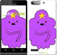 "Чехол на Huawei Ascend G6 Принцесса Пупырка. Adventure Time. Lumpy Space Princess v2 ""1221u-367-716"""