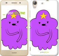 "Чехол на Huawei Y6 II Принцесса Пупырка. Adventure Time. Lumpy Space Princess v2 ""1221c-338-716"""