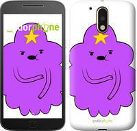 "Чехол на Motorola MOTO G4 PLUS Принцесса Пупырка. Adventure Time. Lumpy Space Princess v2 ""1221c-953-716"""