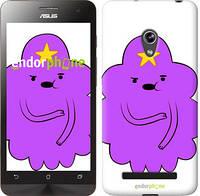 "Чехол на Asus Zenfone 5 Принцесса Пупырка. Adventure Time. Lumpy Space Princess v2 ""1221c-81-716"""