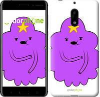 "Чехол на Nokia 6 Принцесса Пупырка. Adventure Time. Lumpy Space Princess v2 ""1221u-898-716"""