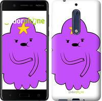 "Чехол на Nokia 5 Принцесса Пупырка. Adventure Time. Lumpy Space Princess v2 ""1221u-804-716"""