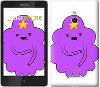 "Чехол на Nokia XL Принцесса Пупырка. Adventure Time. Lumpy Space Princess v2 ""1221u-500-716"""