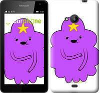 "Чехол на Microsoft Lumia 535 Принцесса Пупырка. Adventure Time. Lumpy Space Princess v2 ""1221u-130-716"""
