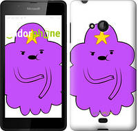 "Чехол на Microsoft Lumia 540 Dual SIM Принцесса Пупырка. Adventure Time. Lumpy Space Princess v2 ""1221u-246-716"""