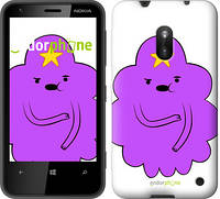 "Чехол на Nokia Lumia 620 Принцесса Пупырка. Adventure Time. Lumpy Space Princess v2 ""1221u-249-716"""
