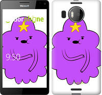 "Чехол на Microsoft Lumia 950 XL Dual Sim Принцесса Пупырка. Adventure Time. Lumpy Space Princess v2 ""1221c-407-716"""