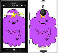 "Чехол на Nokia Lumia 1520 Принцесса Пупырка. Adventure Time. Lumpy Space Princess v2 ""1221u-314-716"""