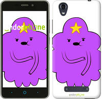 "Чехол на ZTE X3 Принцесса Пупырка. Adventure Time. Lumpy Space Princess v2 ""1221u-431-716"""