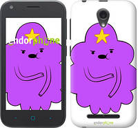 "Чехол на ZTE L110 Принцесса Пупырка. Adventure Time. Lumpy Space Princess v2 ""1221u-435-716"""