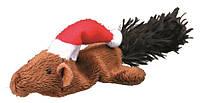 Рождественская плюшевая игрушка Trixie Белка, Мышь, 14-17см (1шт)