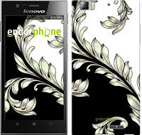 """Чехол на Lenovo K900 White and black 1 """"2805u-671-716"""""""