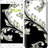 "Чехол на Xiaomi Mi 6 Plus White and black 1 ""2805c-978-716"""