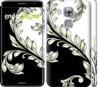 """Чехол на Huawei Nova Plus White and black 1 """"2805c-961-716"""""""