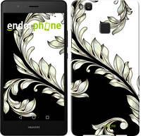 """Чехол на Huawei P9 Lite White and black 1 """"2805c-298-716"""""""
