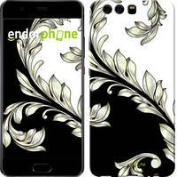 """Чехол на Huawei P10 White and black 1 """"2805c-780-716"""""""