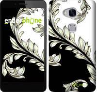 """Чехол на Huawei Honor 5X White and black 1 """"2805c-176-716"""""""
