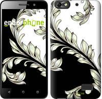 """Чехол на Huawei Honor 4C White and black 1 """"2805c-183-716"""""""