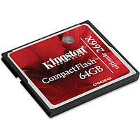 Карта памяти Kingston Compact Flash 64Gb Kingston Ultimate 266x (CF/64GB-U2)