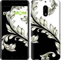 "Чехол на Nokia 6 White and black 1 ""2805u-898-716"""