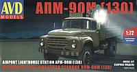 1:72 Сборная модель автомобиля АПМ-90М (130), AVD Models 1291