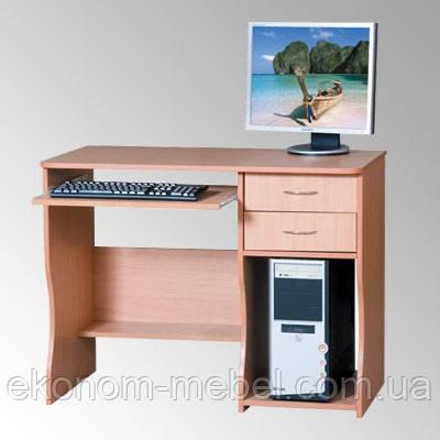 Стол компьютерный СКМ-7, компактный, 100см, с ящиками