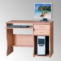Стол компьютерный СКМ-7, компактный, 100см, с ящиками, фото 1