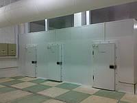 Строительство низкотемпературных камер хранения для длительного хранения продуктов, камер шоковой заморозки.