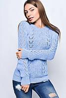Вязаные женские свитера Света из шерсти и акрила
