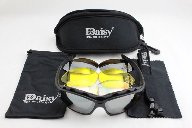 Тактические очки Daisy C4 4 стекла