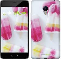 "Чехол на Meizu M3s цветное мороженое ""3956u-943-716"""