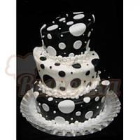 Мастика для торта сахарная (Украина)чёрная 1кг.(код 02501)