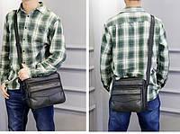 Мужская кожаная сумка. Модель 63279, фото 8