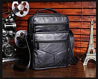 Мужская кожаная сумка. Модель 63279, фото 6