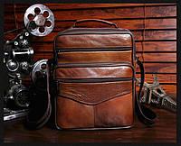 Мужская кожаная сумка. Модель 63279, фото 4
