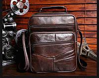 Мужская кожаная сумка. Модель 63279, фото 2