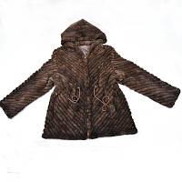 Норковый полушубок, Шуба норковая, куртка из скандинавской вязанной норки ХЛ