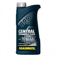 Гидравлическое масло MANNOL 8990 Central Hydraulic Fluid (зеленая)(0.5л)