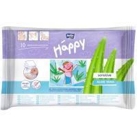 Влажные салфетки Bella Baby Happy Sensetive Aloe Vera 10 шт (5900516421069)
