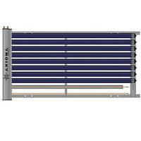 """""""Балконный"""" вакуумный солнечный коллектор U-pipe AXIOMA energy AX-10U"""